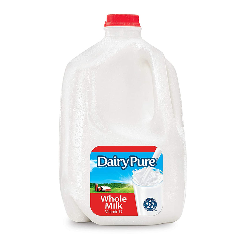DairyPure Vitamin D Whole Milk, 1 Gallon
