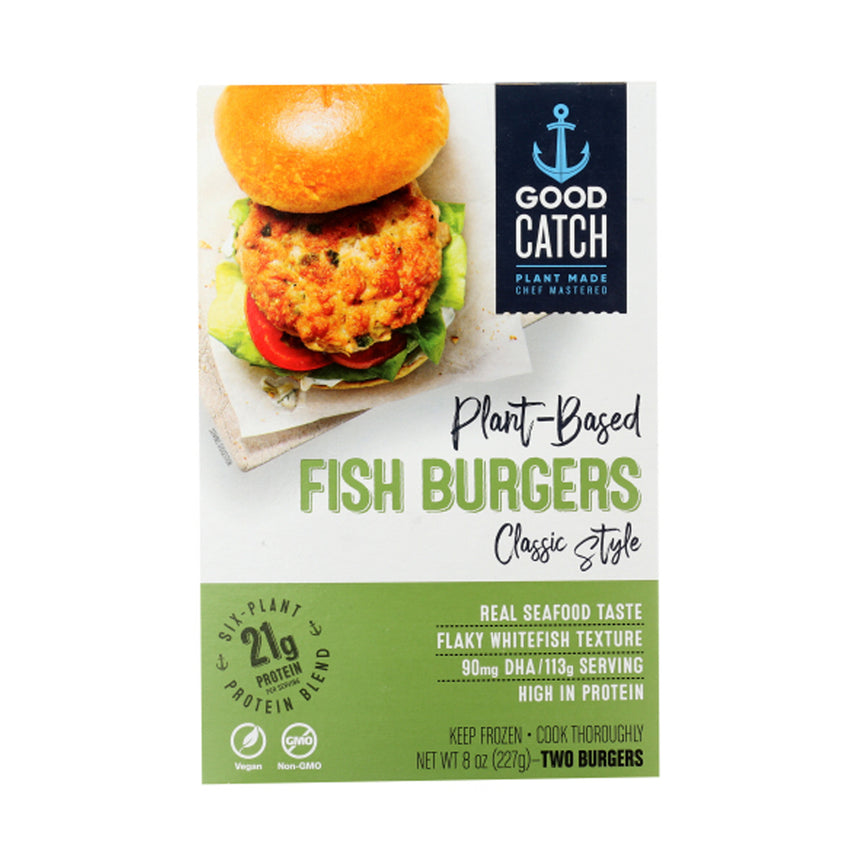 Good Catch Plant Based Fish Burgers Classic, 2 Count