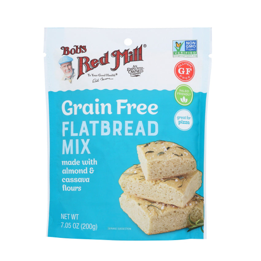 Bob's Red Mill Grain Free Gluten Free Flatbread Mix, 7.05 oz