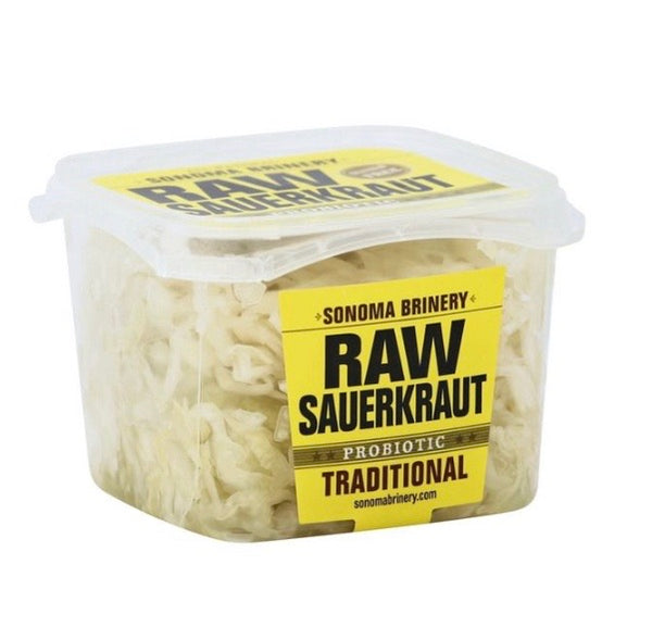 Sonoma Brinery Traditional Probiotic Raw Sauerkraut