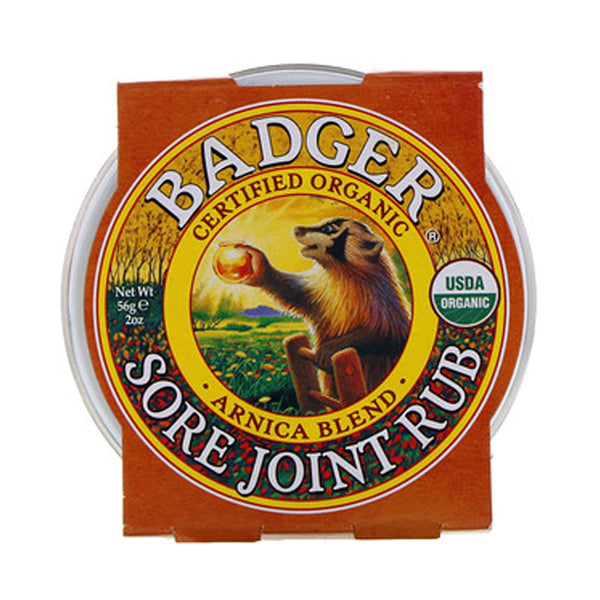Badger Company Natural & Organic Sore Joint Rub