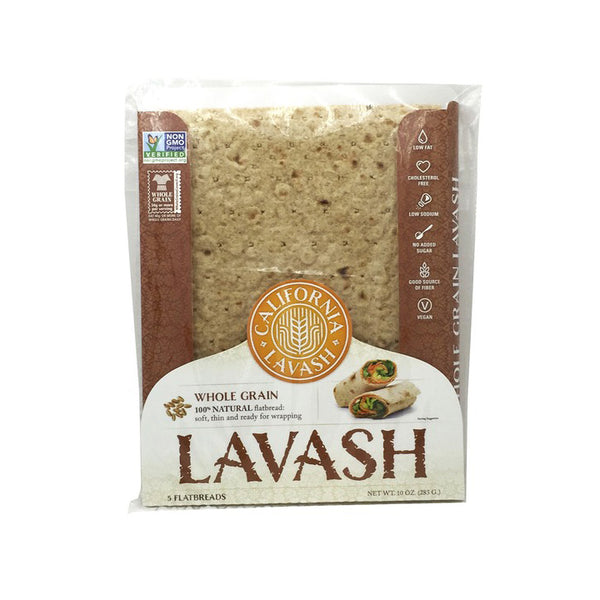Atoria's Lavash 100% Natural Whole Grain Flatbread, 10 oz