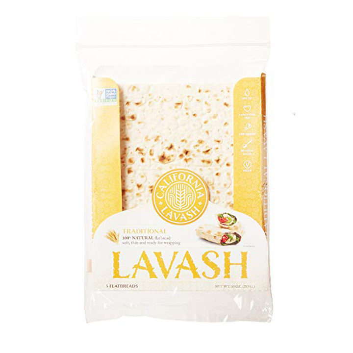 Atoria's Lavash Traditional 100% Natural Flatbread, 10 oz