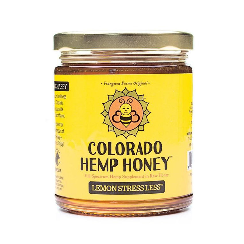 Colorado Hemp Honey Lemon Stress Less (6 oz)