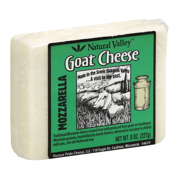Natural Valley Goat Cheese Mozzarella, 8 oz