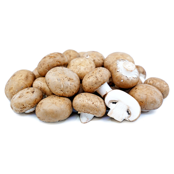 Whole Cremini Mushrooms, 8 oz