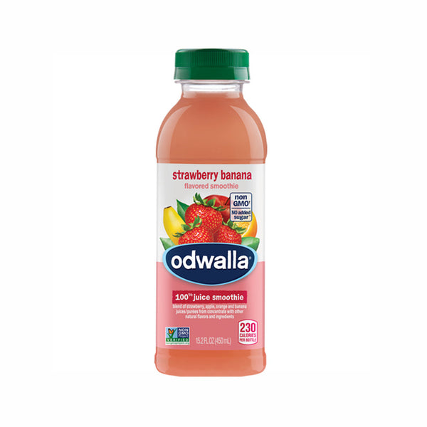 Odwalla Strawberry Banana Flavored Smoothie, 15.2 oz
