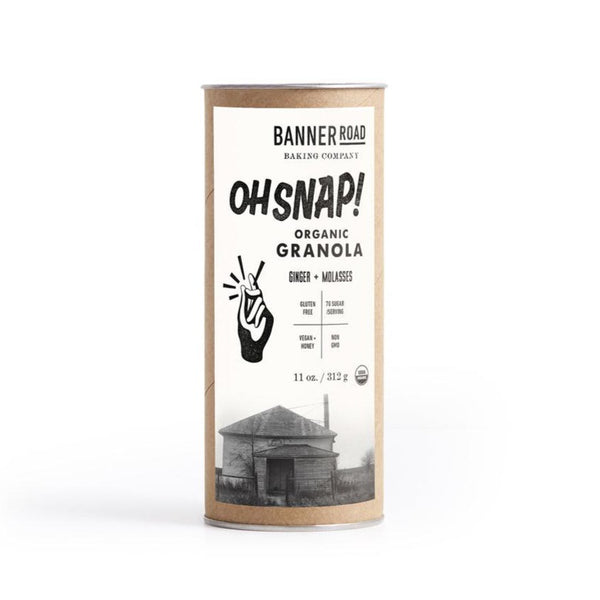 Banner Road Oh Snap! Ginger & Molasses All Natural Organic Granola (11 oz)