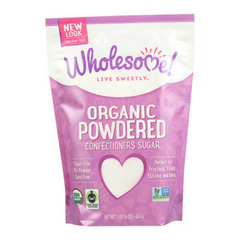 Wholesome Organic Powdered Confectioners Sugar (16 oz)