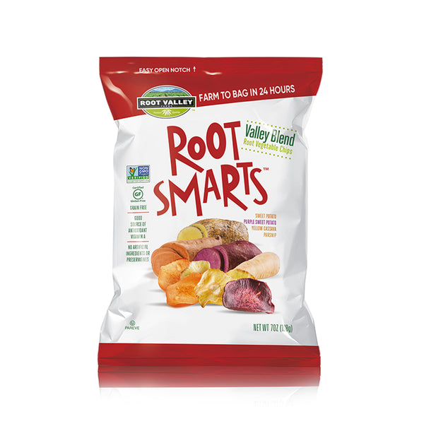 Root Smart Valley Blend Roasted Vegetable Chips, 7 oz