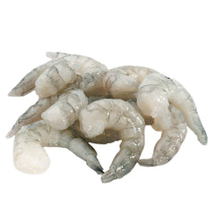 Frozen Raw 26/30 Count Peeled Deveined No Tail Shrimp (2 lbs)