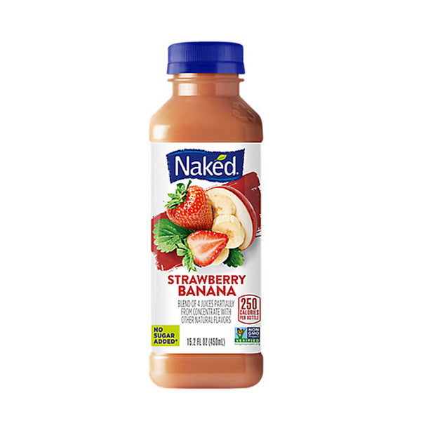 Naked Strawberry Banana (15.2 fl oz)