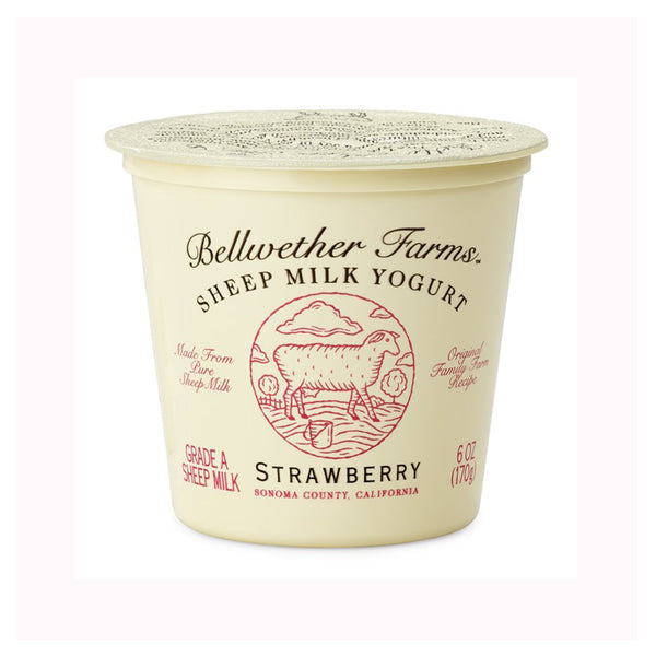 Bellwether Farms Strawberry Sheep Milk Yogurt, 6 oz