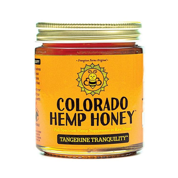Colorado Hemp Honey Tangerine Tranquility (6 oz)