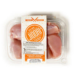 Jidori® All Natural Boneless/Skinless Chicken Thighs (1.2-1.4 lbs)