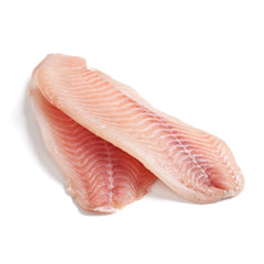 Frozen Farm Raised Japan Premium Tilapia Filet Frozen, 10 oz