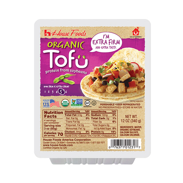 House Foods Organic Firm Tofu, 14 oz