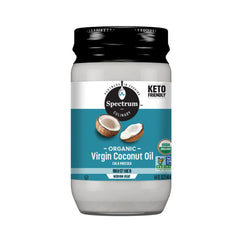 Spectrum Culinary, Organic Cold Pressed Virgin Coconut Oil, Unrefined, 14 fl oz