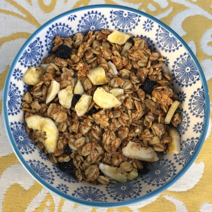 Sconeage Bakery Unsweetened Blueberry Banana Granola, 16 oz