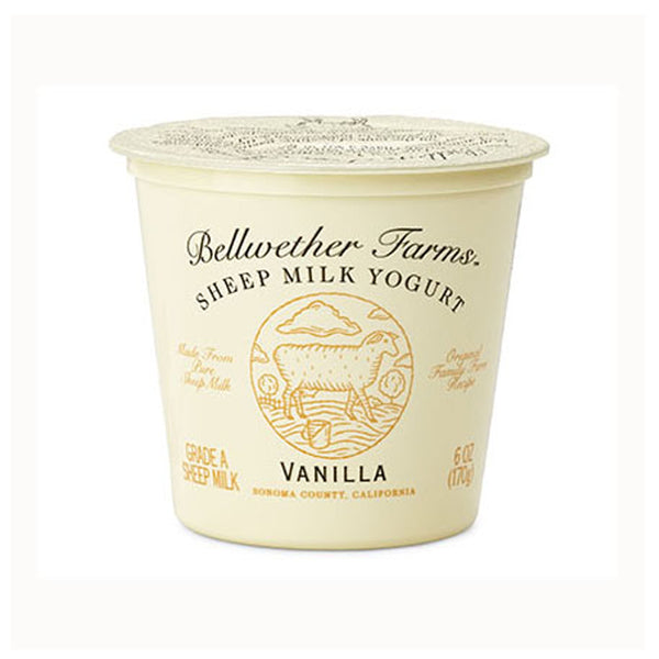 Bellwether Farms Vanilla Sheep Milk Yogurt, 6 oz