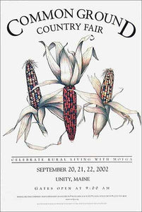 2002 Common Ground Country Fair Poster