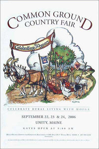 MOFGA's 2006 Common Ground Country Fair Poster - Garden Parade