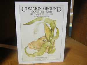 Common Ground Country Fair Postcard - Individual Cards