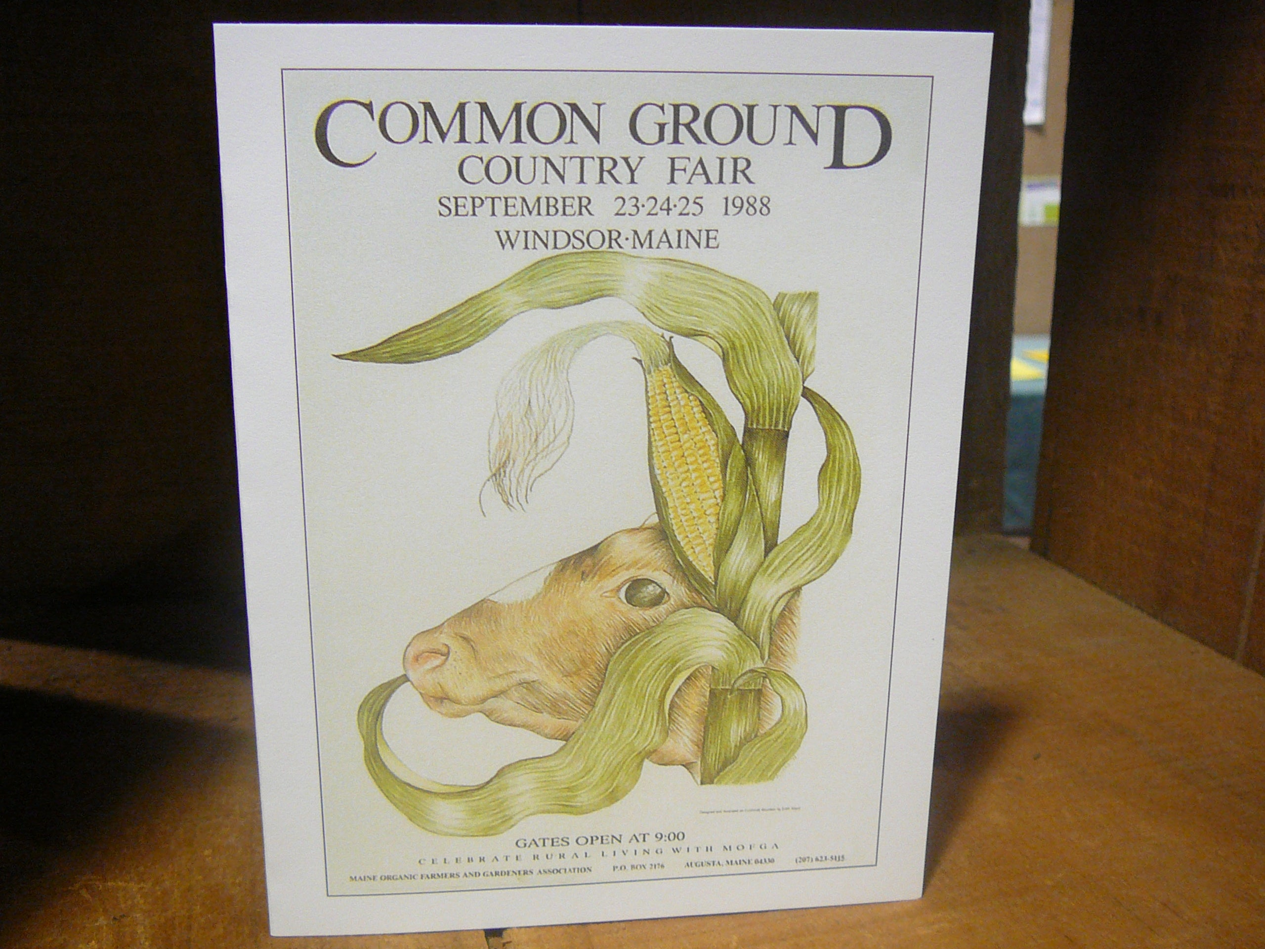 Common Ground Country Fair Postcard -Individual Cards