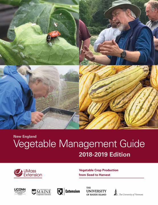 DISCOUNTED 2018/2019 New England Vegetable Management Guide