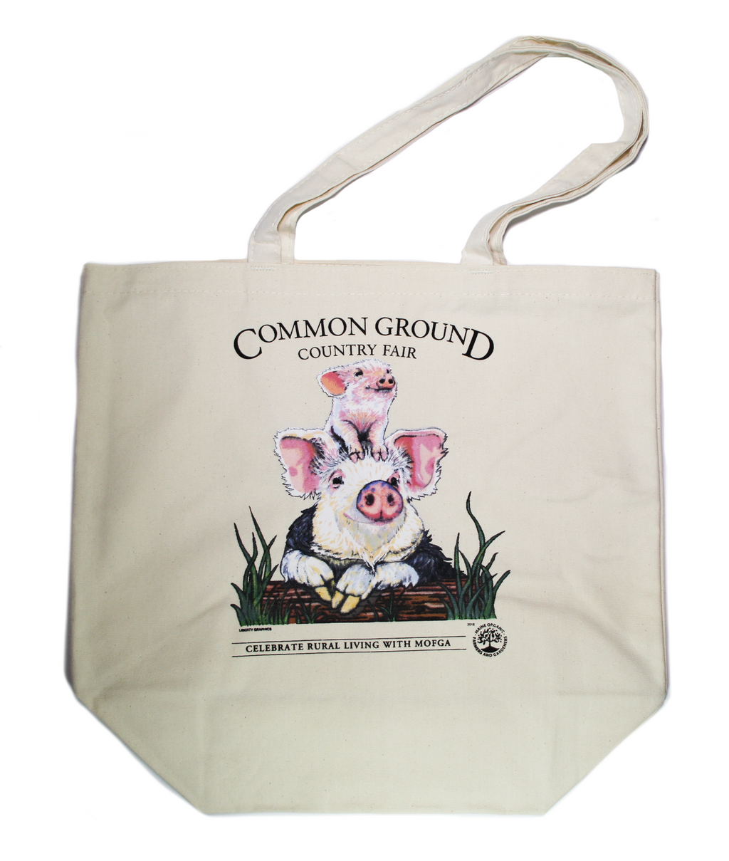 2018 Common Ground Country Fair Grocery Tote Bag