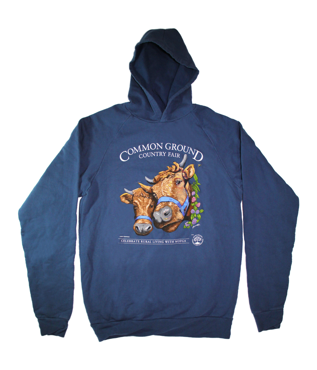2019 Common Ground Country Fair - Adult Hooded Sweatshirt - Bluestone