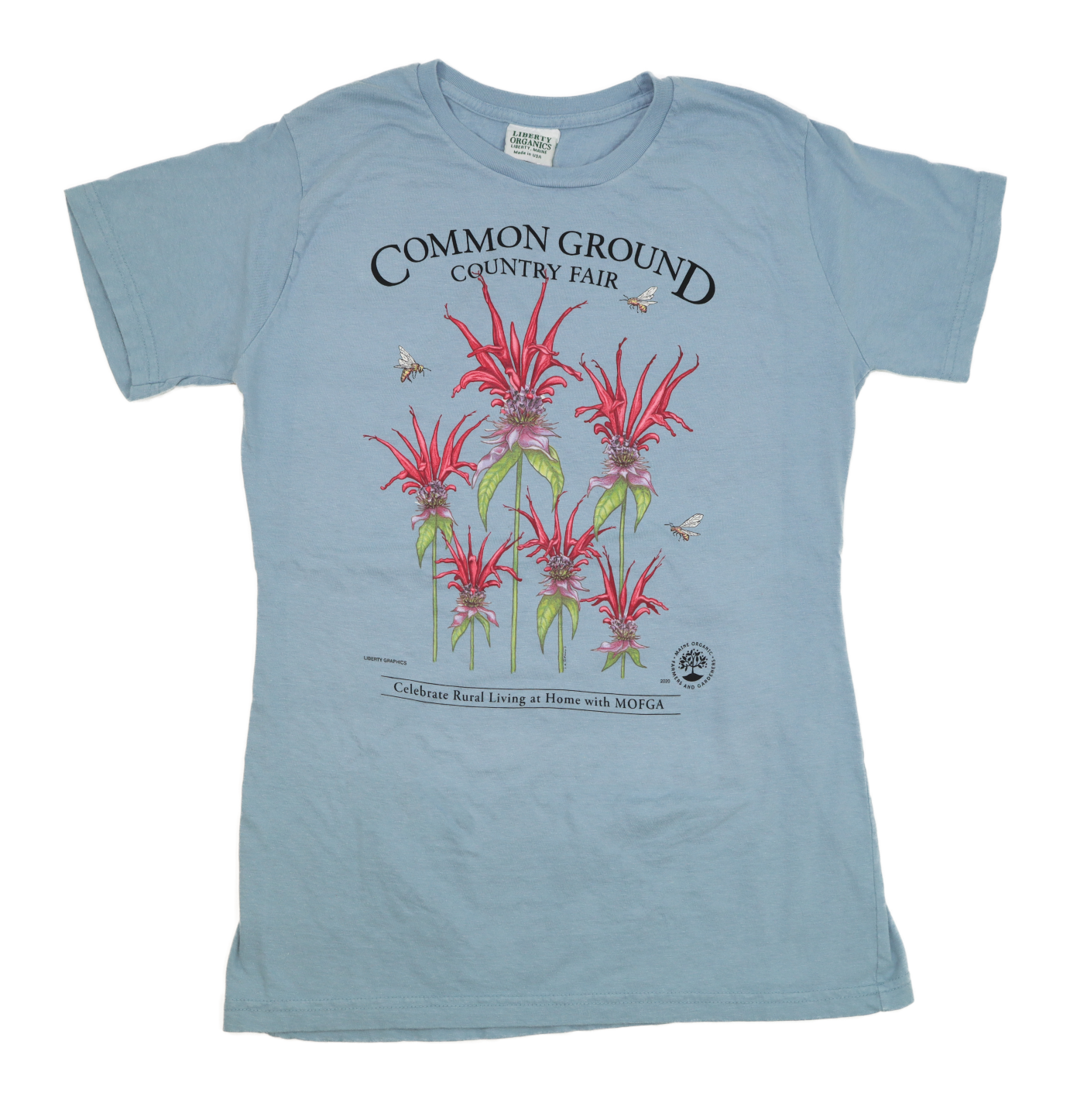2020 Common Ground Country Fair - Women's Fitted - Short-Sleeved T-shirt