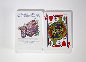 2019 Common Ground Country Fair Playing Cards