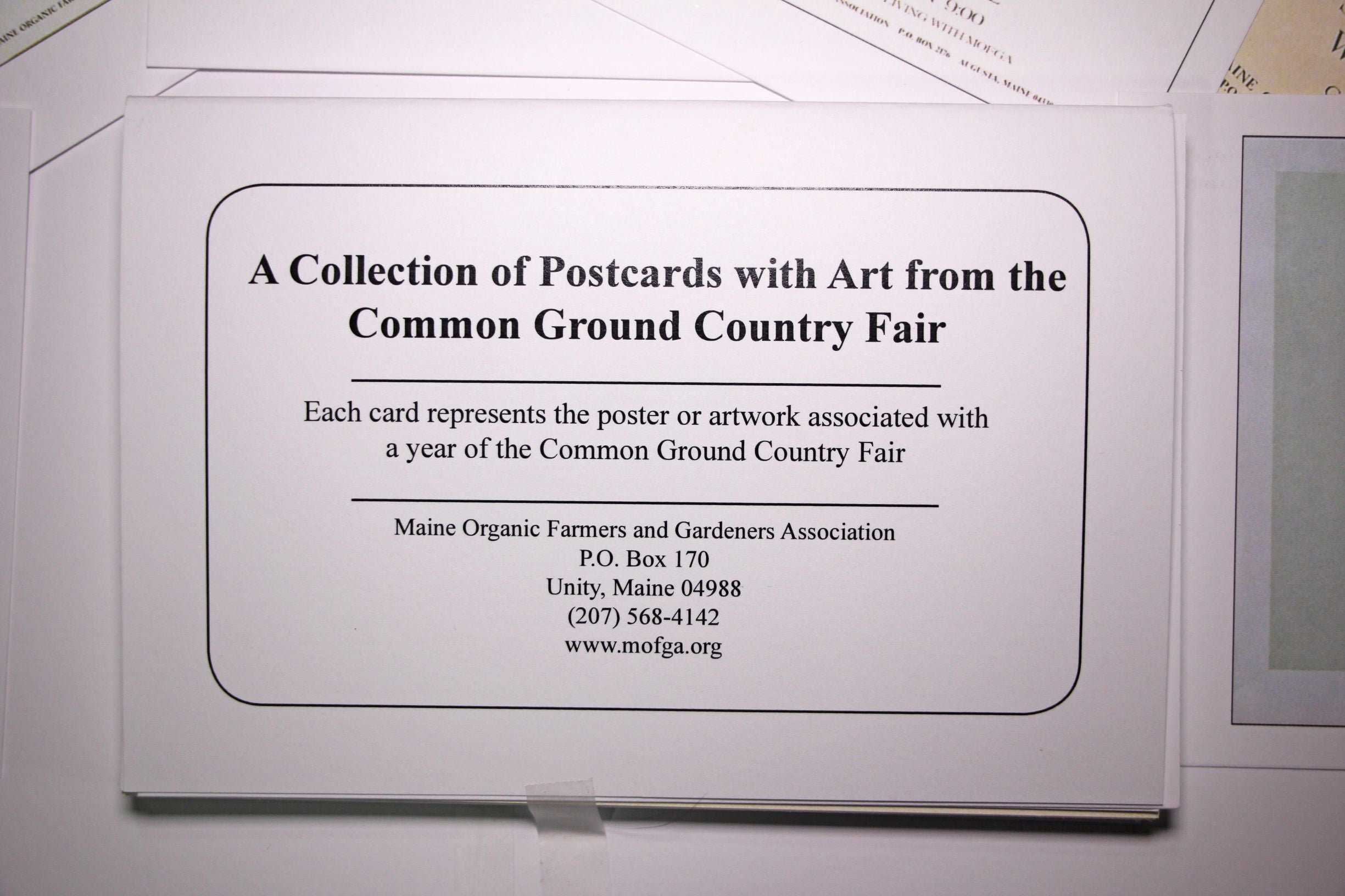 Common Ground Country Fair Postcards Set