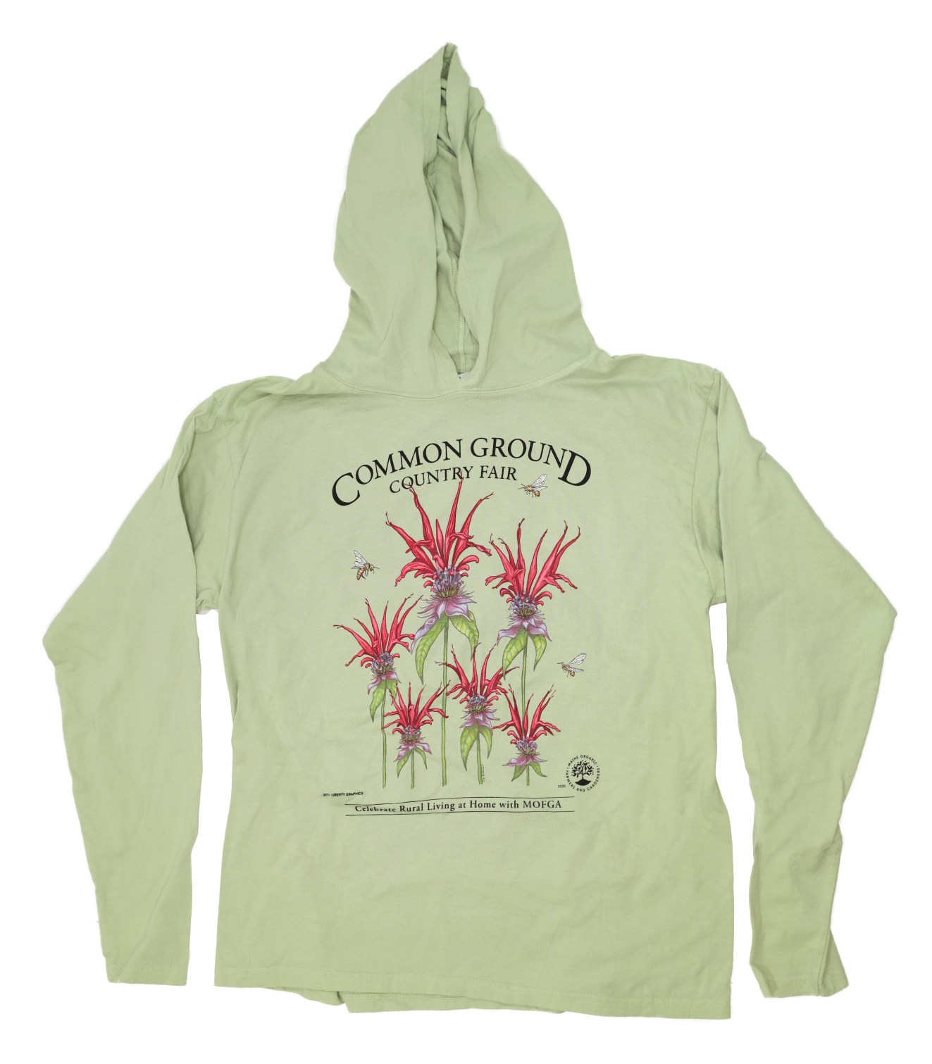 2020 Common Ground Country Fair Adult Long-Sleeved Hooded T-shirt