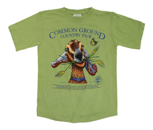 2015 Common Ground Country Fair - Adult Fitted Short Sleeved T-Shirt - 2020 Reprint