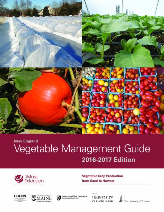 DISCOUNTED 2016/2017 New England Vegetable Management Guide