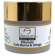 Load image into Gallery viewer, Aevum RiboGold CBS Cuts Burns & Stings Cream