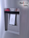 SHARP 380L Upright No Frost Sliver Fridge with Water Dispenser - SJ-SRD485-HS2