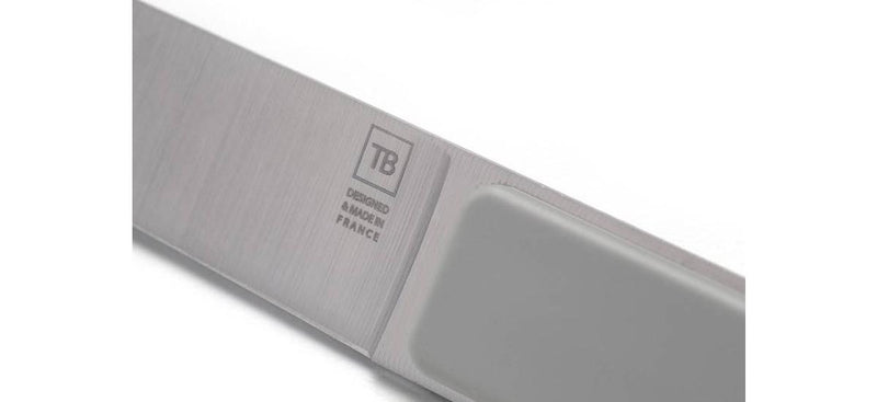 TB HAUTE COUTELLERIE FRANÇAISE HECTOR Light Grey Stainless Steel Steak Knife - 443190 - 50% OFF !