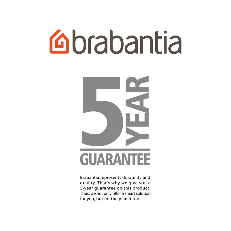 Brabantia Essential 40metres + Ground Tube + Acc. Metallic Grey - 323201