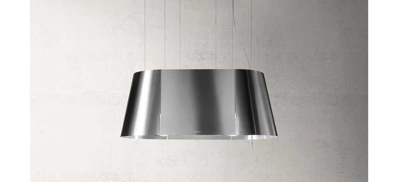 ELICA TWIN 90cm Stainless Steel Island Hood - TWIN IX/F/90