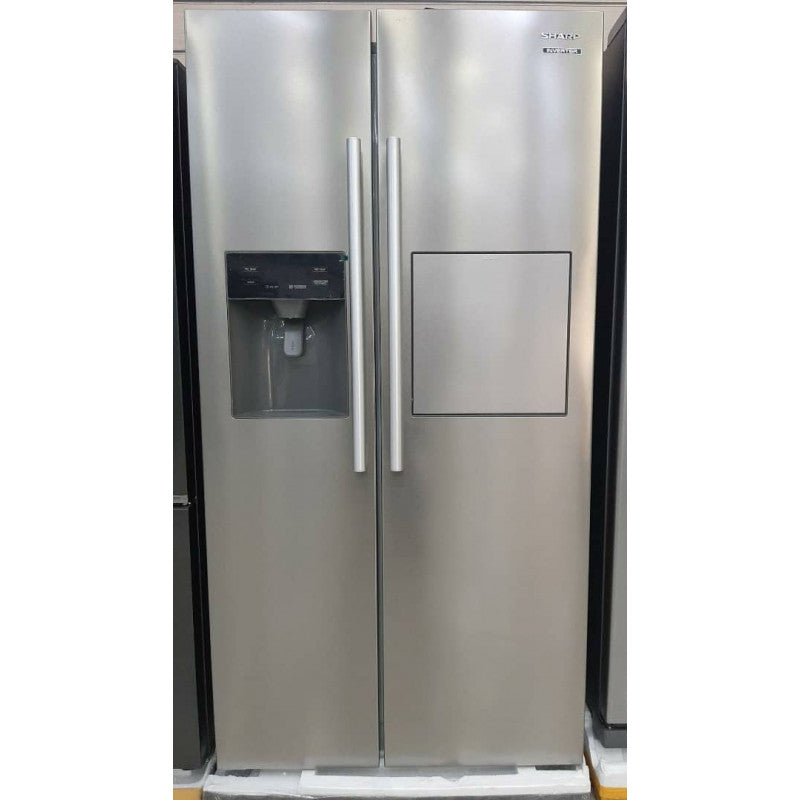 SHARP 504L Side by Side Fridge with Mini Bar - SJ-X635DPH-HS2 - Incoming on 17.04.2021