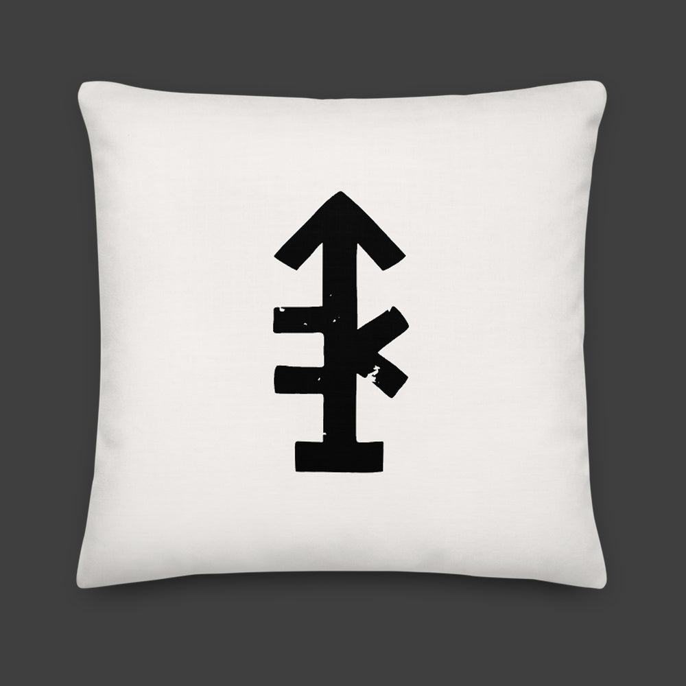 The Pussy Is The Portal — Throw Pillow