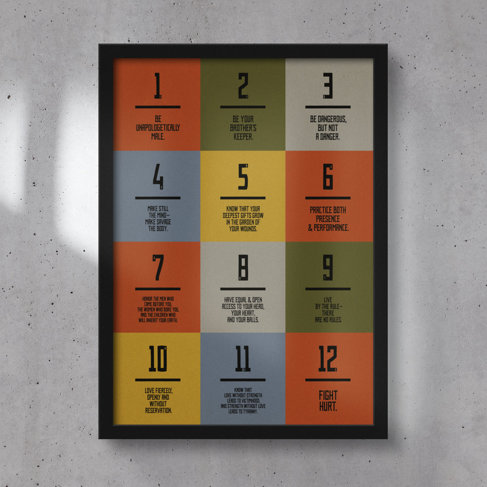 UNcivilized Ethos Framed Poster