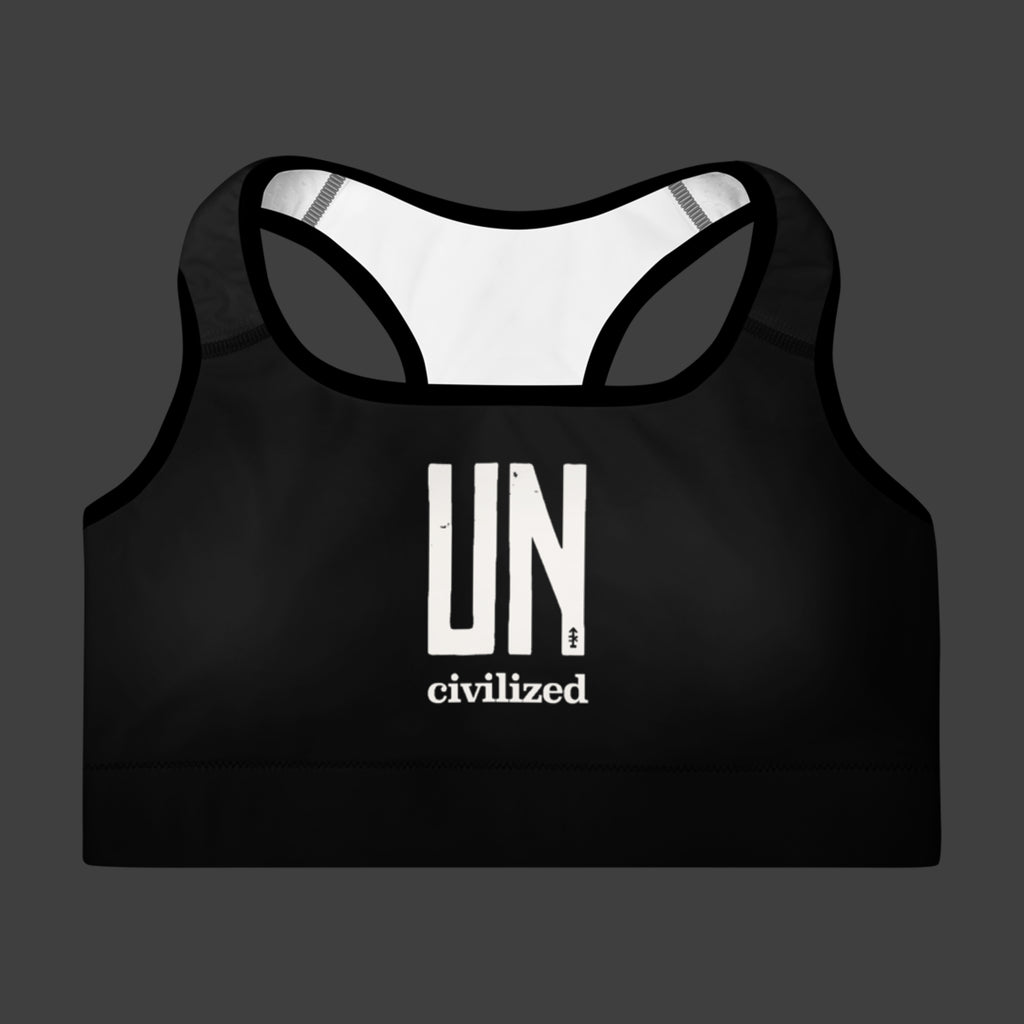 UNcivilized Sports Bra
