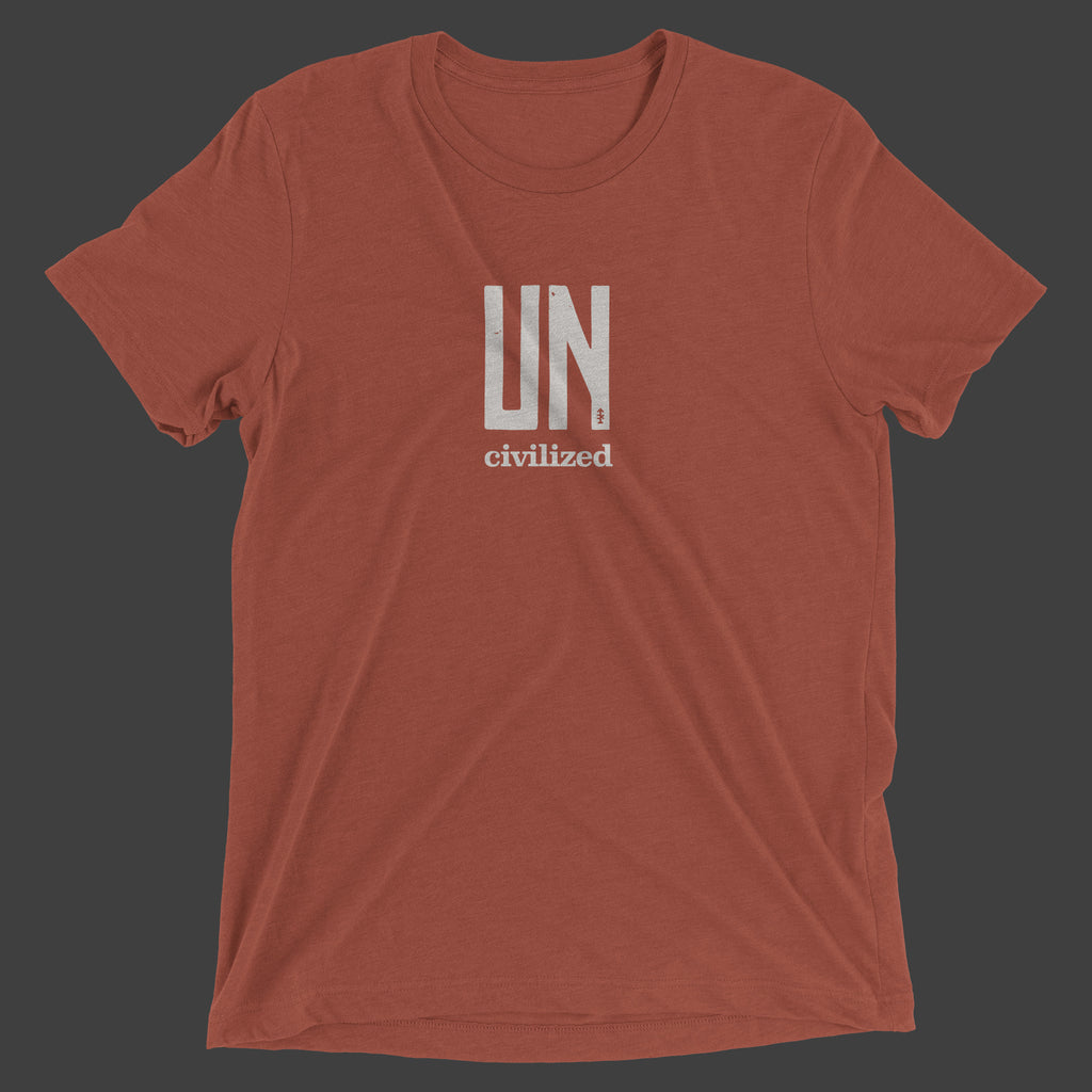Uncivilized T-Shirt (Clay)