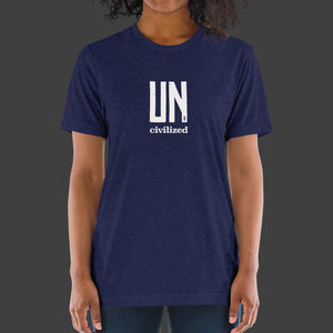 Uncivilized T-Shirt (Navy)