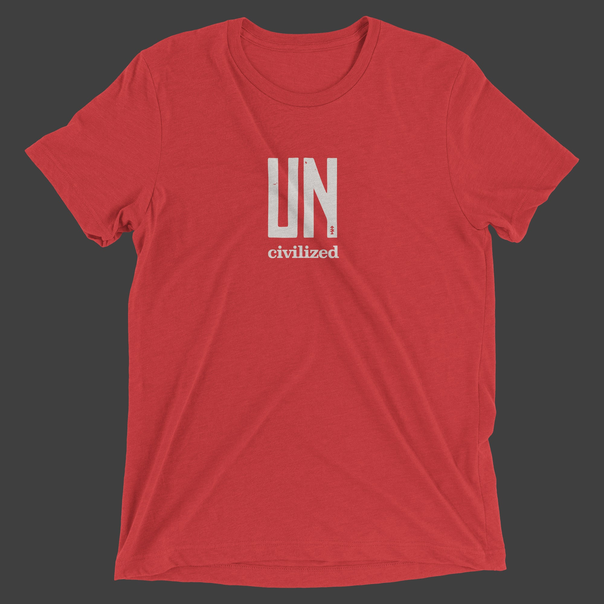 Uncivilized T-Shirt (Red)