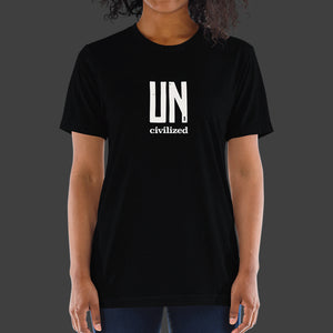Uncivilized T-Shirt (Black)